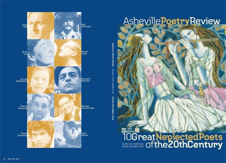 cover design for 2000 Asheville Poetry Review